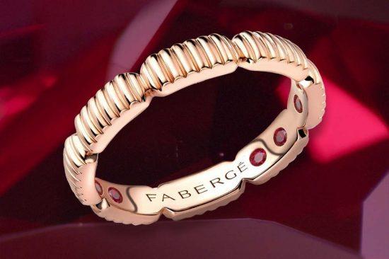 Fabergé تطرح مجموعة خواتم Colours of Love Healing Rings
