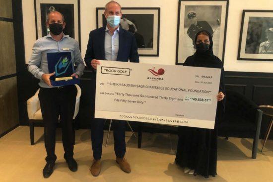 Al Hamra Golf Club raises impressive funds through