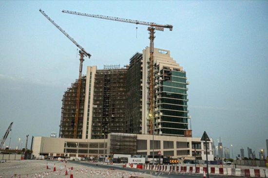 Azizi Developments' Creek Views I reaches 72% construction completion