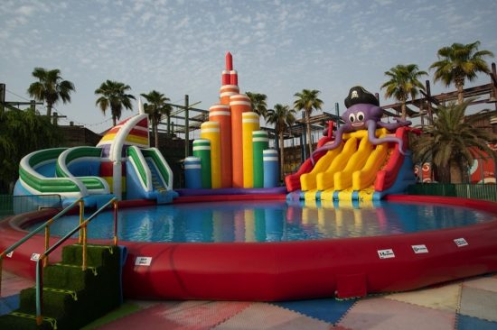 Dive into an epic summer with La Mer's Splash Fest inflatable water park