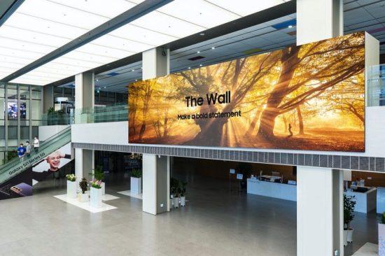 سامسونج للإلكترونيات تعلن إطلاق شاشة The Wall 2021 في الأسواق العالمية