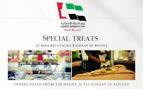 Emirati Women's Day at Khalidiya Palace Rayhaan by Rotana