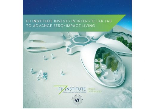 FII Institute invests in Interstellar Lab, accelerating sustainable farming on Earth and in space