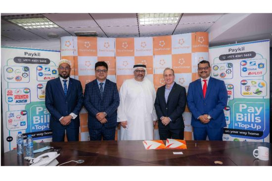 Sharaf Exchange and Paykii sign strategic partnership for Global Bill Payment Services