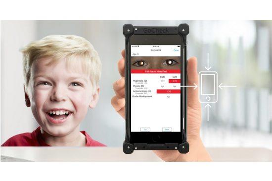 """شركة """"إميتاك"""" للرعاية الصحية بالتعاون مع شركة """"غو تشيك"""" تقدمان تطبيقًا يعتمد على الذكاء الصناعي لفحص بصر الأطفال"""
