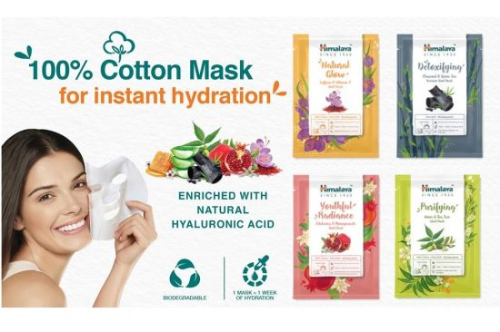 Himalaya introduces all-new ultra-soft Cotton Face Sheet Masks to pamper your skin like a pro!
