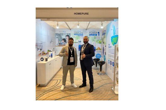 """في إطار جهودها المستمرة لدعم البيئة، كيونت تطرح خط المياه الكامل """"هوم بيور"""" في المنتدى العربي للمياه 2021 في دبي"""