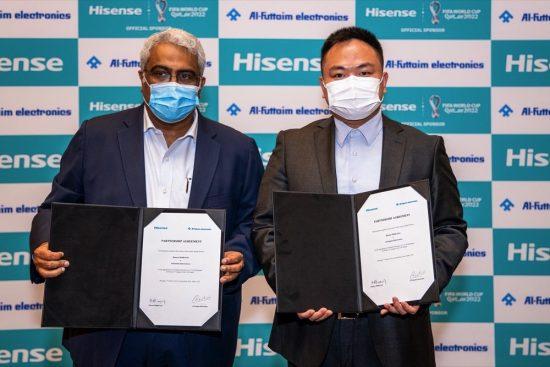 هايسنس الشرق الأوسط توقع شراكة مع الفطيم للإلكترونيات