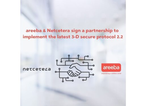 Areeba partners with Netcetera to implement the latest 3-D Secure Protocol 2.2