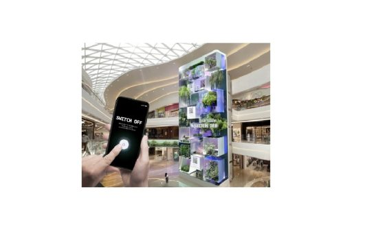 LOVE EARTH, SWITCH OFF: Beautiful Resurrection of Earth Displayed on 22m Digital Signage